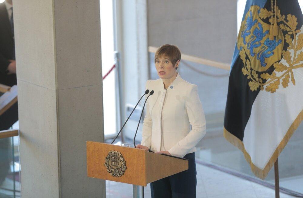 ФОТО DELFI: Президент Кальюлайд вручила в Нарве 166 госнаград