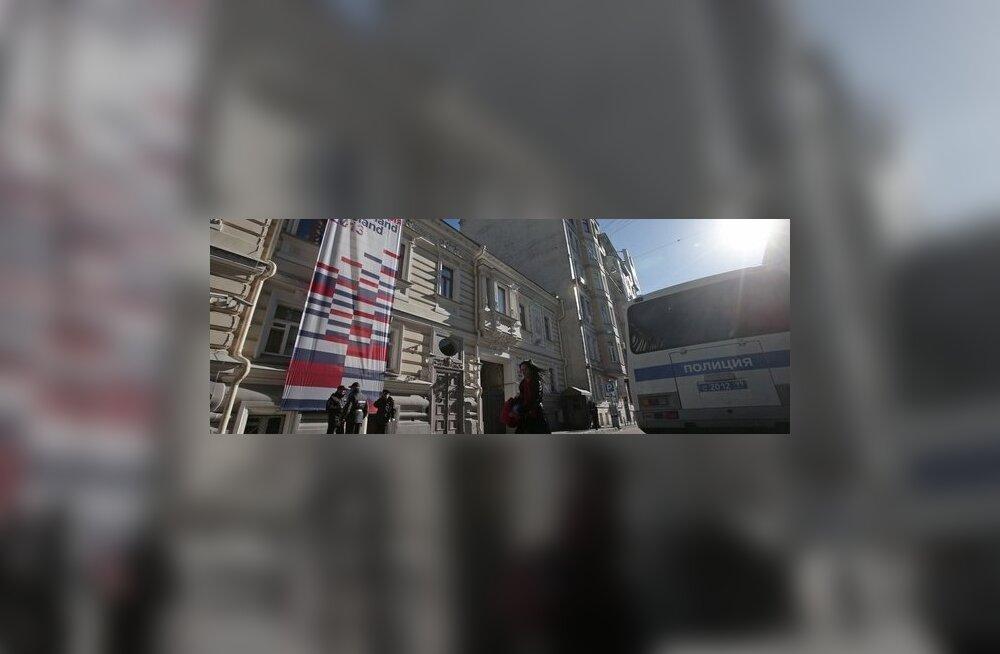 Moskvas peksti oma korteris läbi Hollandi diplomaat