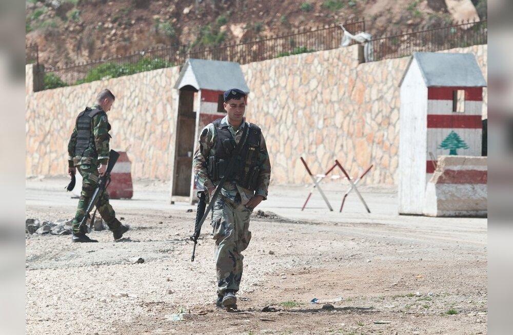 Liibanon laiendas eestlaste otsingute piirkonda