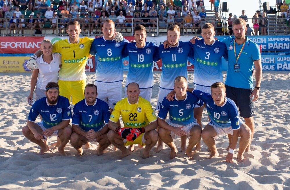 Rannajalgpalli Euroliiga superfinaal Eesti - Ungari