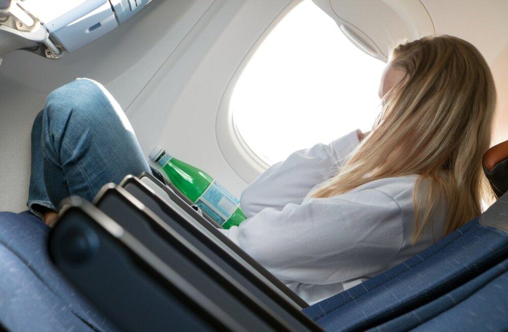 Pikematel lennureisidel võivad pikast istumisest, sundasendist ja rõhuerinevustest tekkida jalgades vereringeprobleemid.