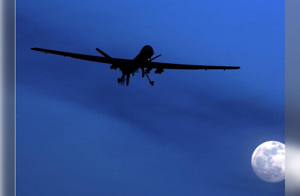 Pakistanis sai USA droonirünnakus surma viis Talibani komandöri