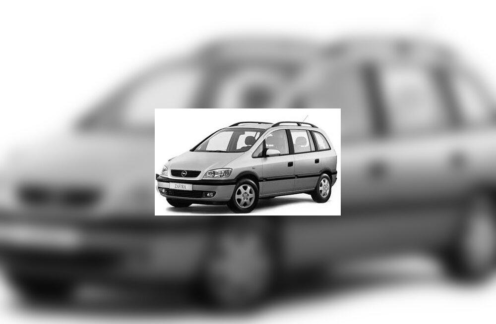 Inglismaal sai parima kasutatud auto tiitli Opel Zafira