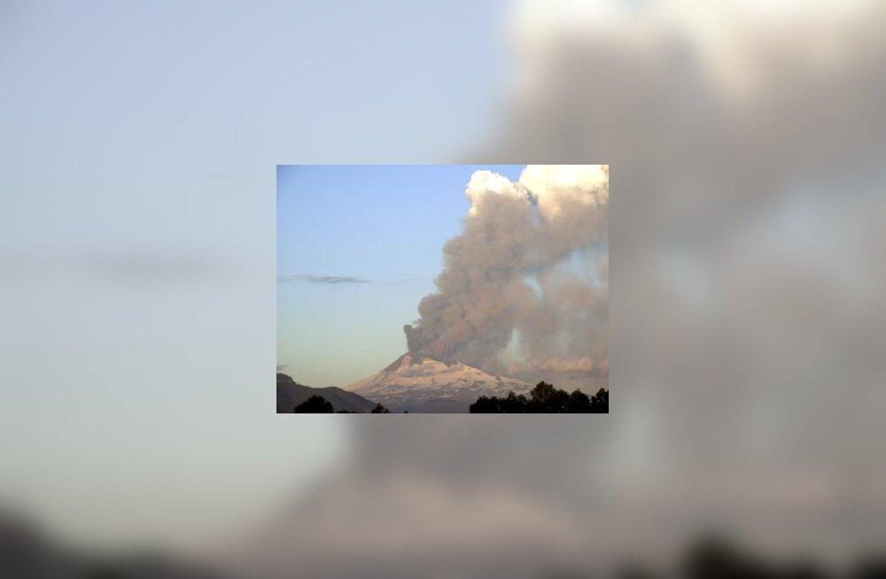 vulkaan, Tšiili, mägi, purse