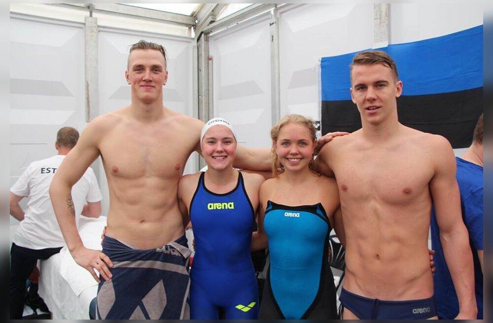 Eesti 4x100 meetri segateatenelik pääses ujumise EM-il finaali!