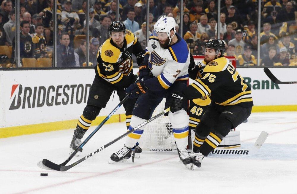 Stanley karikafinaal St.Louis Blues - Boston Bruins
