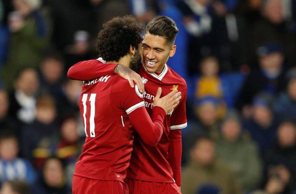 VIDEO | Liverpool võttis võõrsil liigahooaja suurima võidu, vastaste värav tuli veidrast penaltist