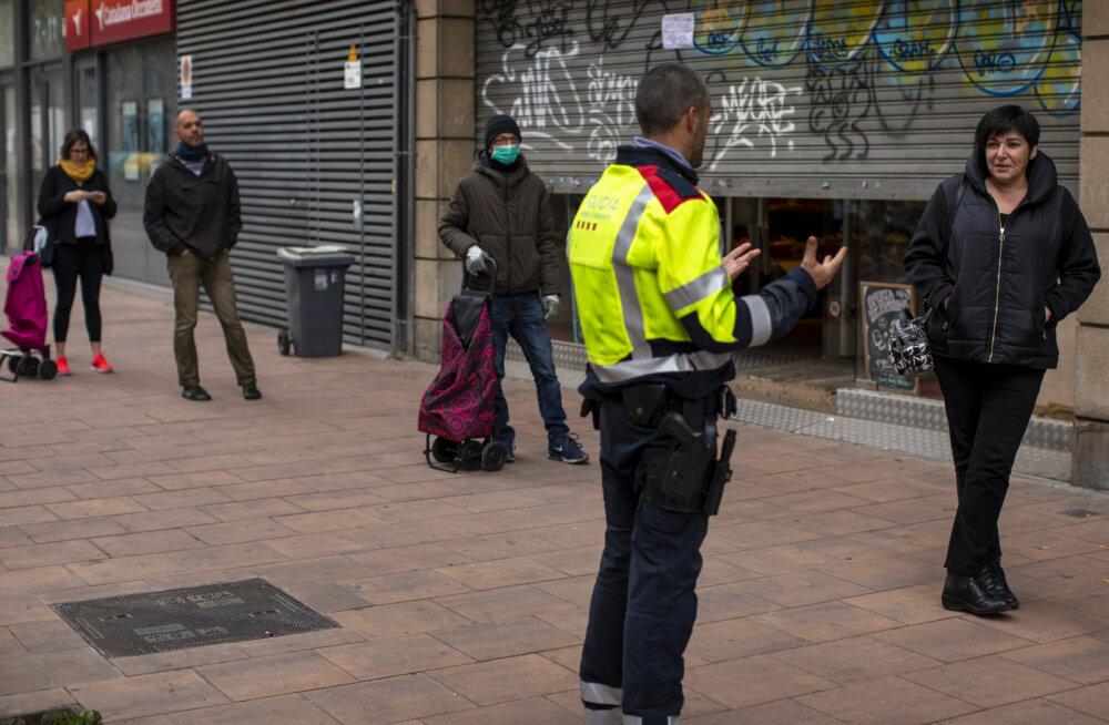 Hispaanias võib eriolukorra reeglite rikkumise eest oodata kuni 600 000-eurone trahv