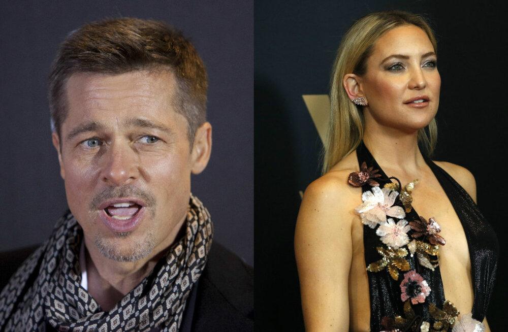 Juba uus silmarõõm? Kibedast lahutusmadinast toibuv Brad Pitt veedab aega järjekordse filminäitlejanna seltsis