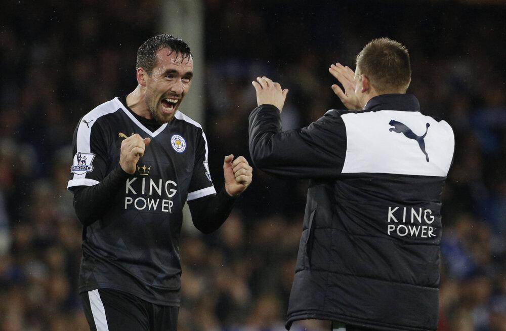 Leicester jätkas võimsalt, Manchester United kaotas jälle