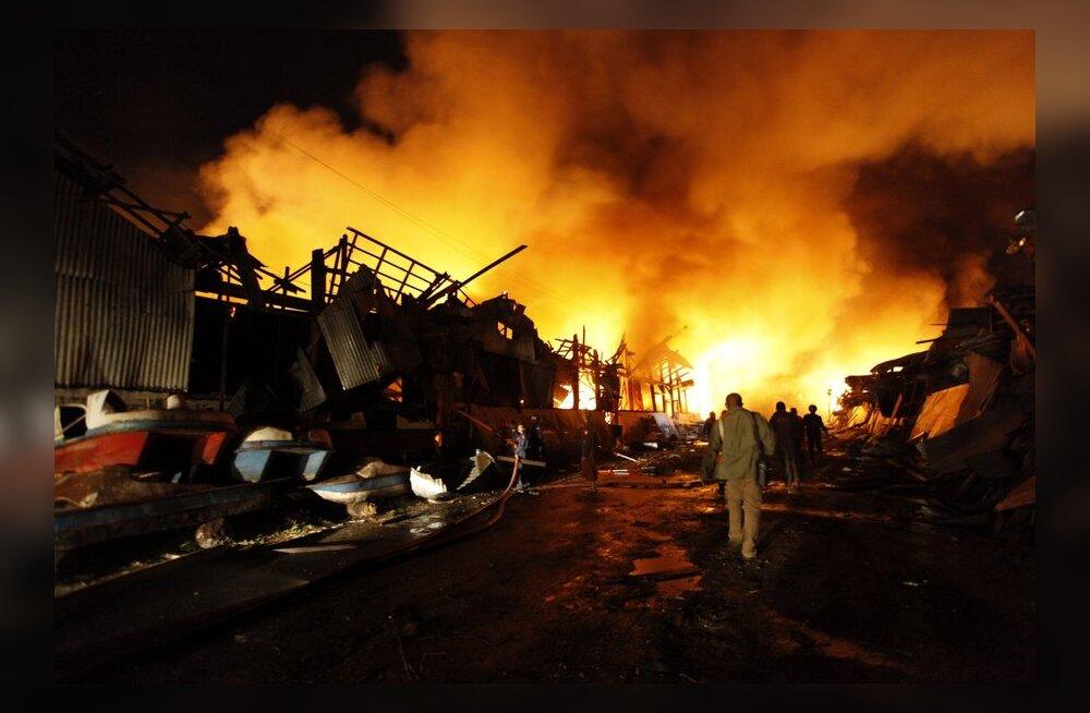 Бирма: число жертв взрыва возросло до 17