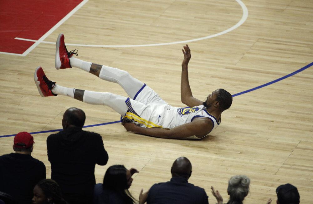 VIDEO | Duranti 50 punkti viisid Golden State Warriorsi konverentsi poolfinaali