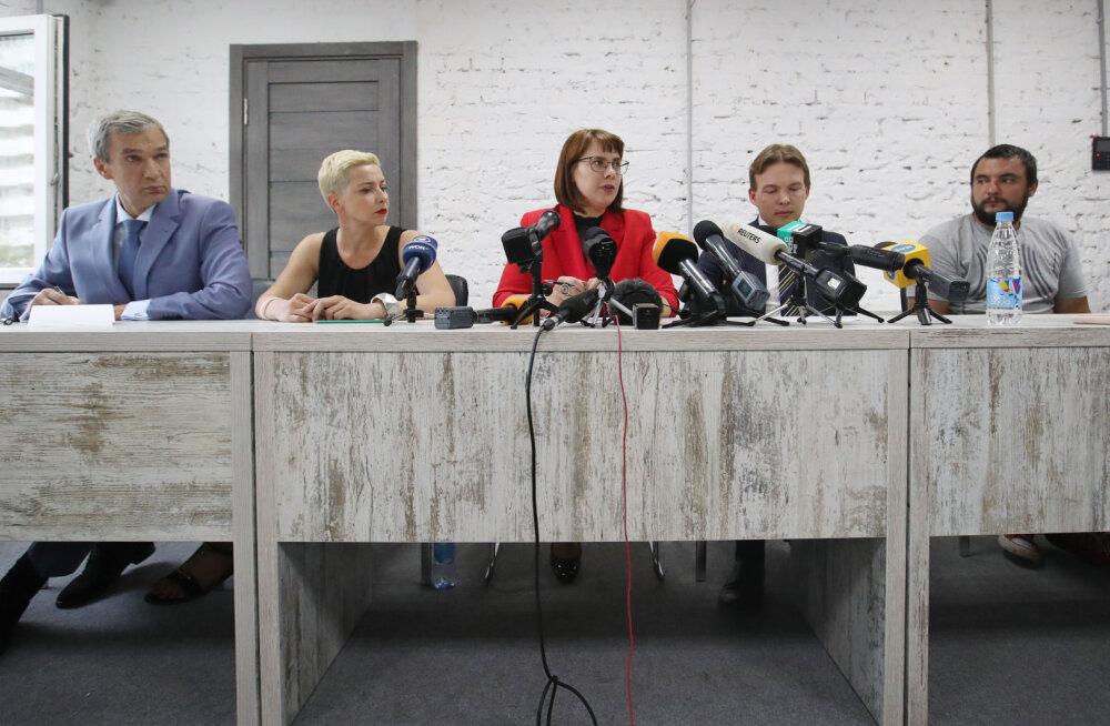Valgevene prokuratuur algatas opositsiooni esindajate suhtes kriminaalmenetluse
