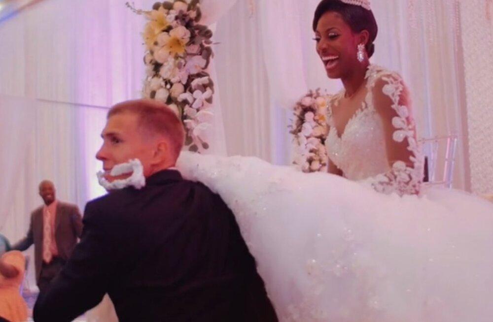VIDEO: Maicel Uibo ja Bahama sprinteri imeline pulmapidu