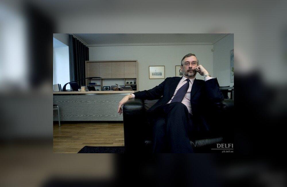 Ilves nimetas Eesti suursaadikuks Rootsis Jaak Jõerüüdi