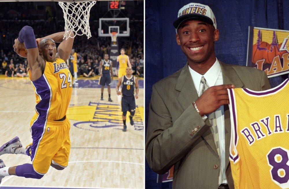 8 uskumatut fakti Kobe Bryanti karjäärist