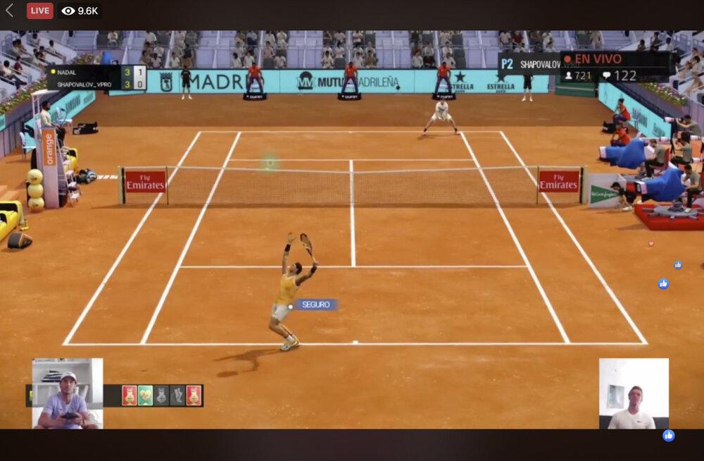 Andy Murray ja Kiki Bertens krooniti virtuaalse Madrid Openi võitjaks