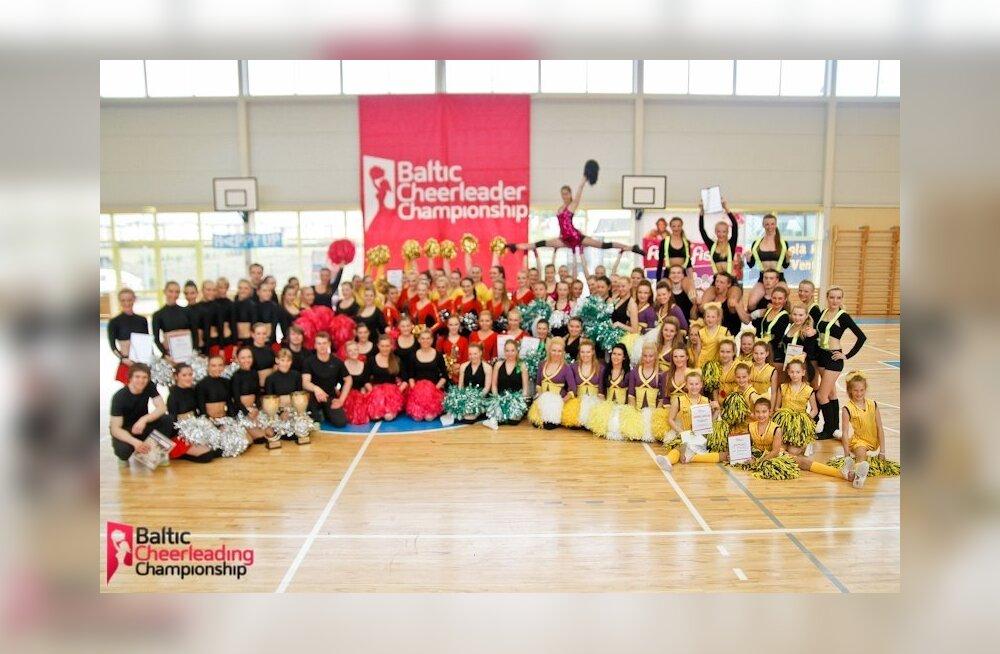 Tantsutüdrukute Baltimaade meistrivõistlused