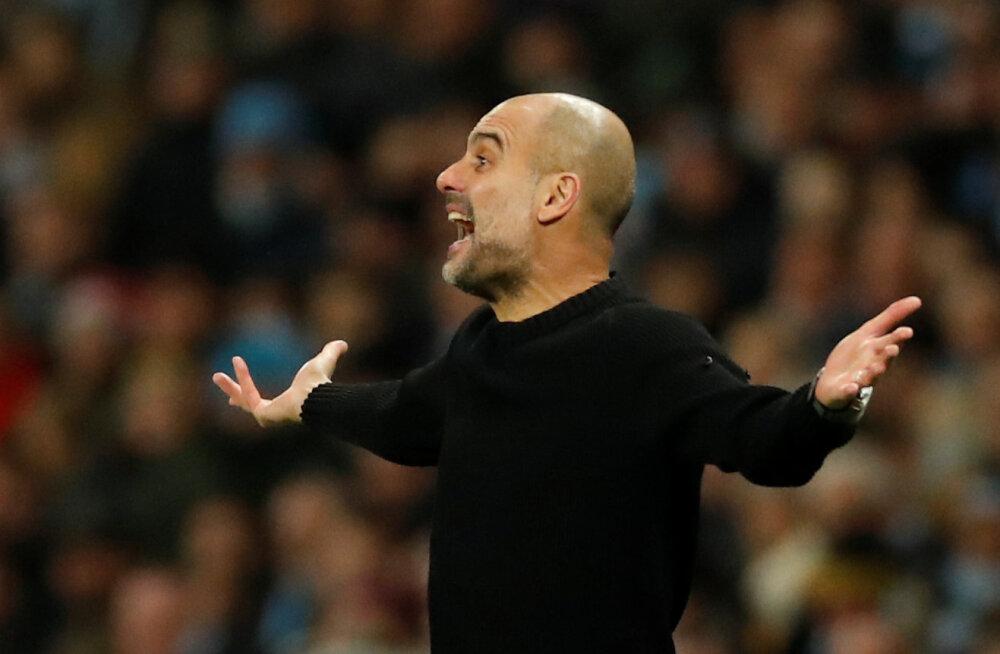 Pep Guardiola Liverpooli püüdmisest: peame palvetama