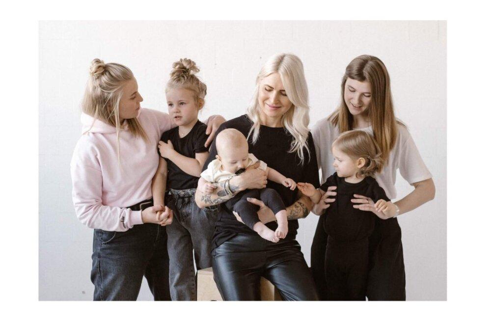 ФОТО | Как под копирку! Накануне Дня матери эстонский модный бренд представил коллекцию для всей семьи