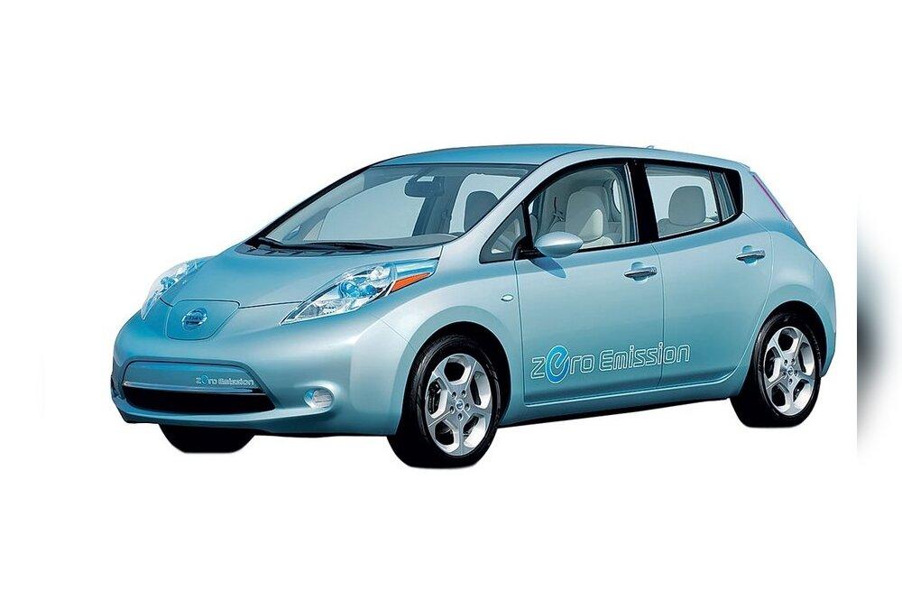 Riik tahab suurendada elektriautode müüki