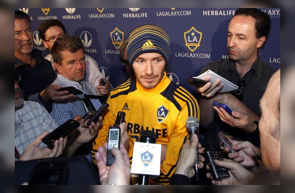 David Beckham on karjääri loojangul endiselt nõutud mees, jalgpall