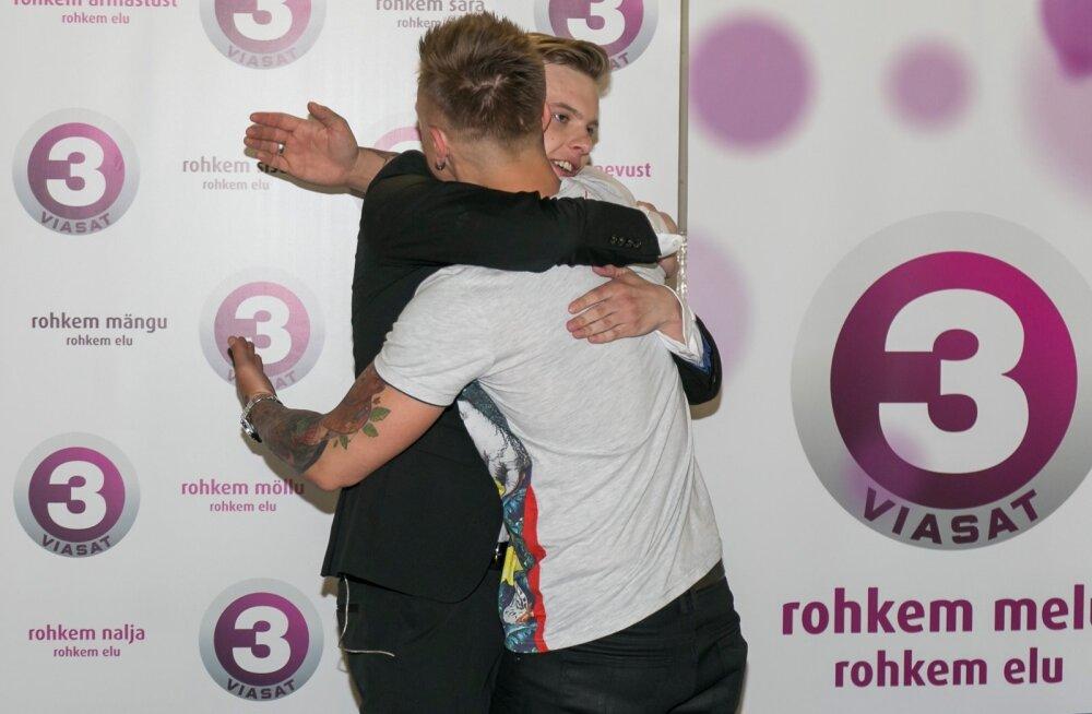 """TV3 suurporjekti """"Eesti otsib superstaari"""" Nordea kontserdisaalis toimunud finaalkontserdi ja rahvahääletuse tulemusena Jüri Pootsmann."""