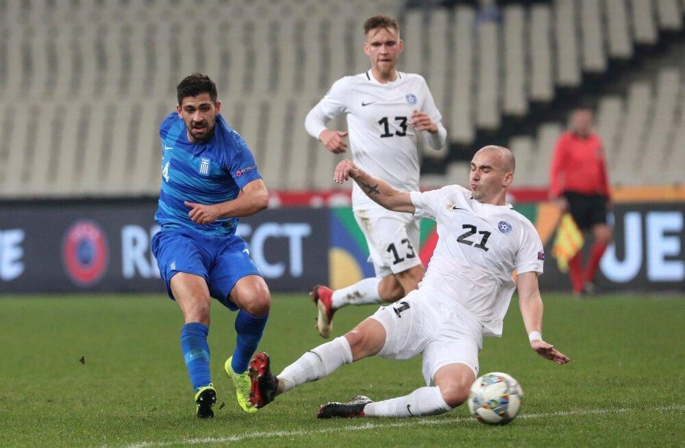 Greece Estonia Nations League Soccer