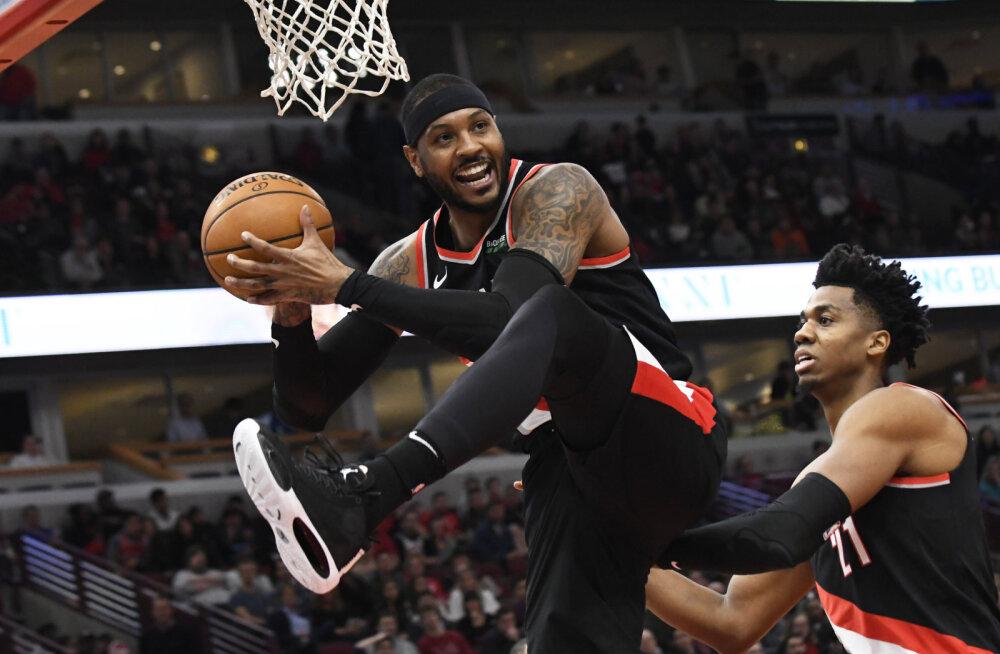 NBA-s uue võimaluse saanud veteran valiti üllatuslikult nädala mängijaks