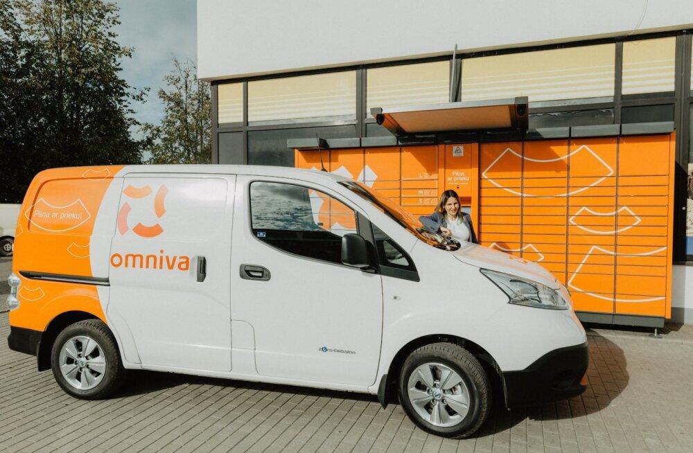 Omniva võtab kasutusele 70 elektrikaubikut: postimaailmas on see ainuõige samm