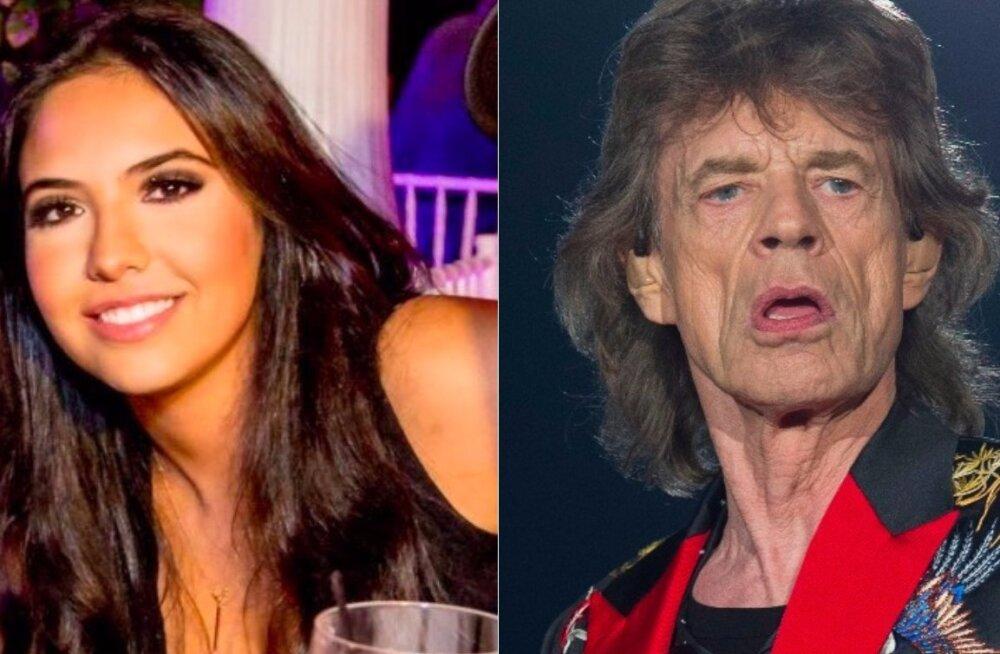 KAE PRUUTI: Mick Jagger kurameerib endast 52 aastat noorema kaunitariga!