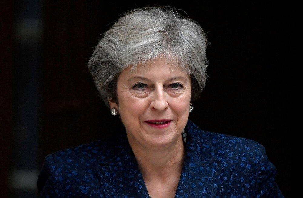 Peaminister May: parlamendil on valida minu Brexiti-kokkuleppe või kokkuleppeta jäämise vahel