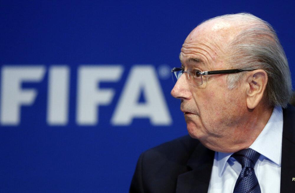 """Blatter: """"Mul ei saa ju midagi viga olla, kui mind just viiendaks ametiajaks valiti."""""""