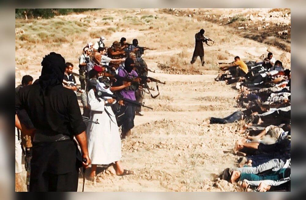 FOTOD: Mässulised avaldasid pilte Iraagi sõdurite massitapmisest