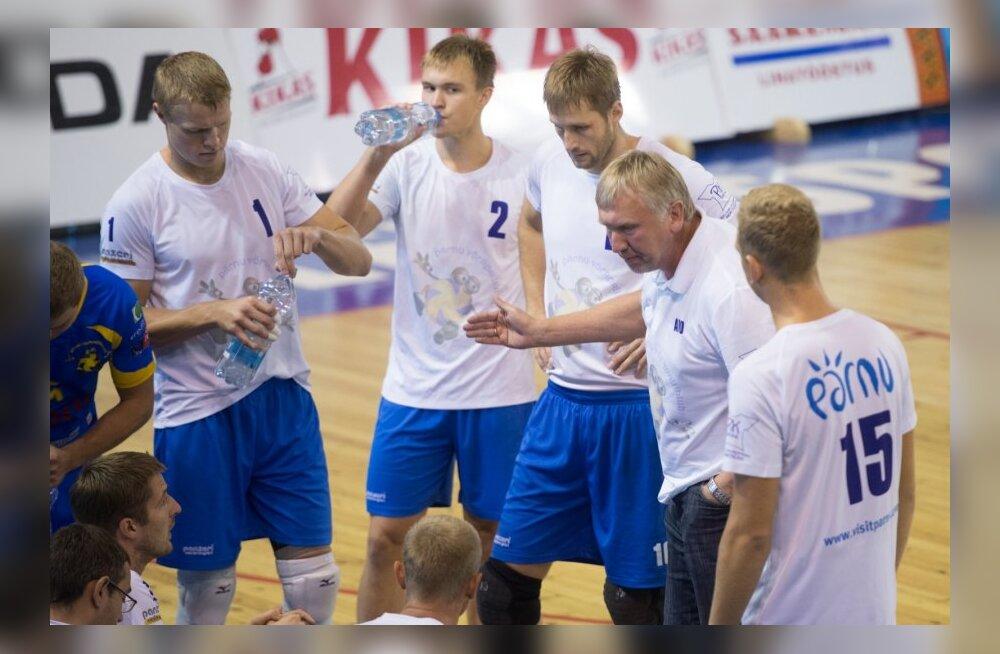 Võrkpall Tallinna Selver - Pärnu võrkpalliklubi