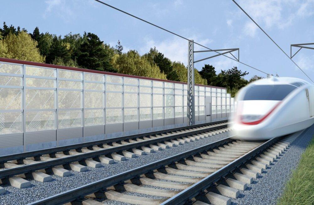 Rail Balticu uued eskiisfotod