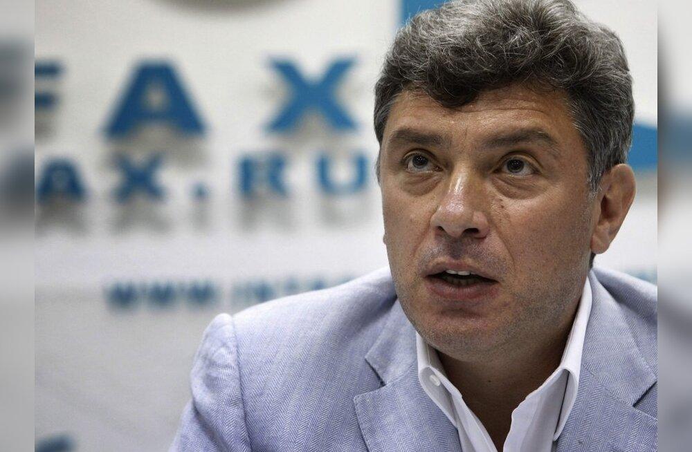 Meedia: Vene opositsiooniliider Nemtsov sai väljasõidukeelu