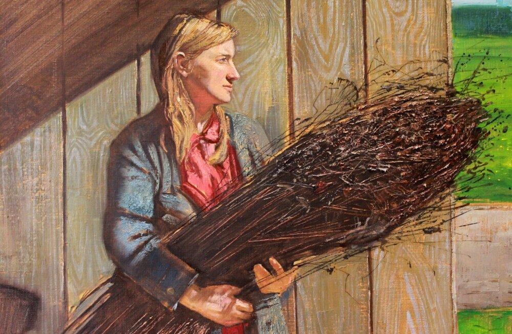 """EKL ja Maaleht esitlevad: Elust maal. Aleksei Šatunov """"Lina"""", õli, lõuend, 60x80 cm, 2014."""