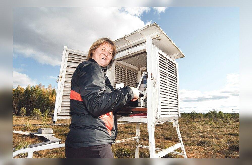 Eesti ainus ilmajaam soos – Toomal