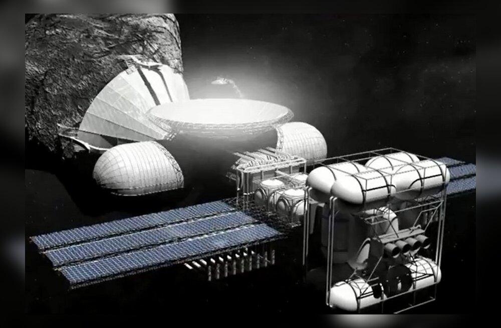 Kosmosekaevandusfirmad alustasid võidujooksu asteroididele