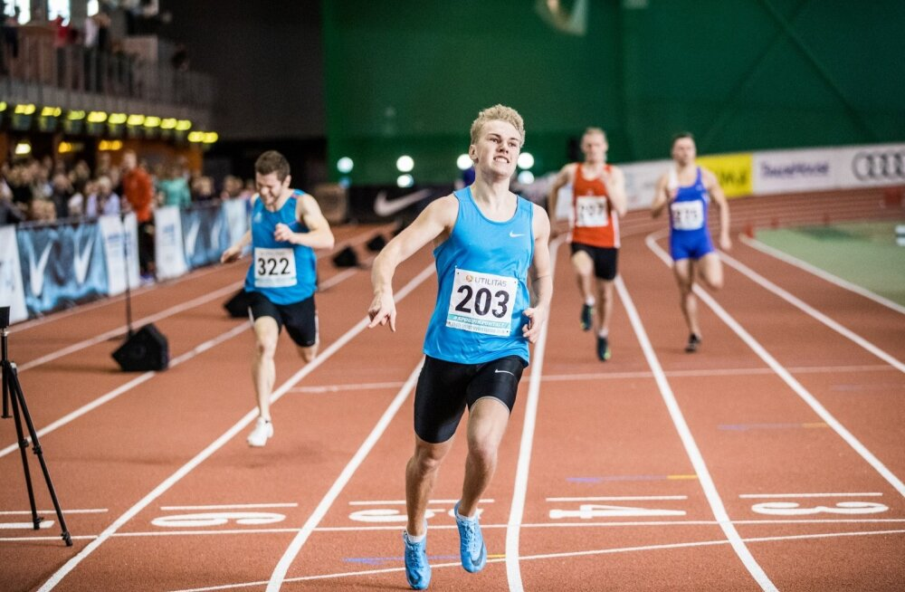 Päev pärast 200 meetri jooksus Eesti täiskasvanute meistriks tulekut sai Henri Sai (nr 203) teate, et Audentese spordikoolis on ta suunatud sisekonkursile.