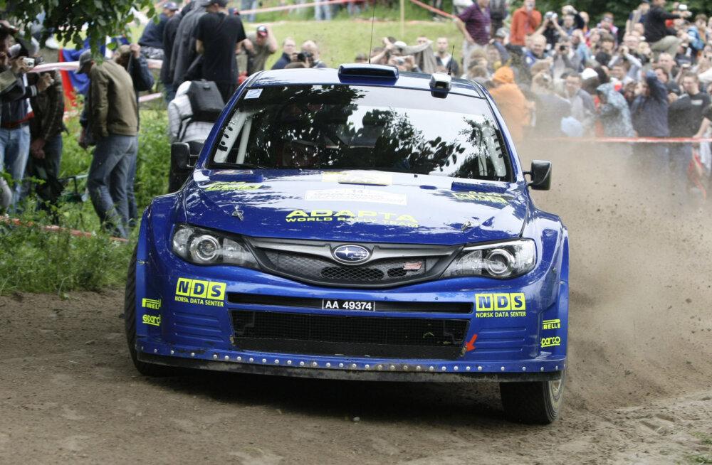 Mads Östberg 2009. aastal Subaru roolis
