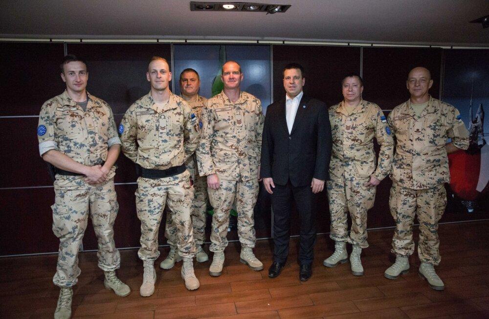 Ратас эстонским солдатам в Мали: участвуя в международных операциях вдали от дома, вы таким образом ежедневно защищаете Эстонию