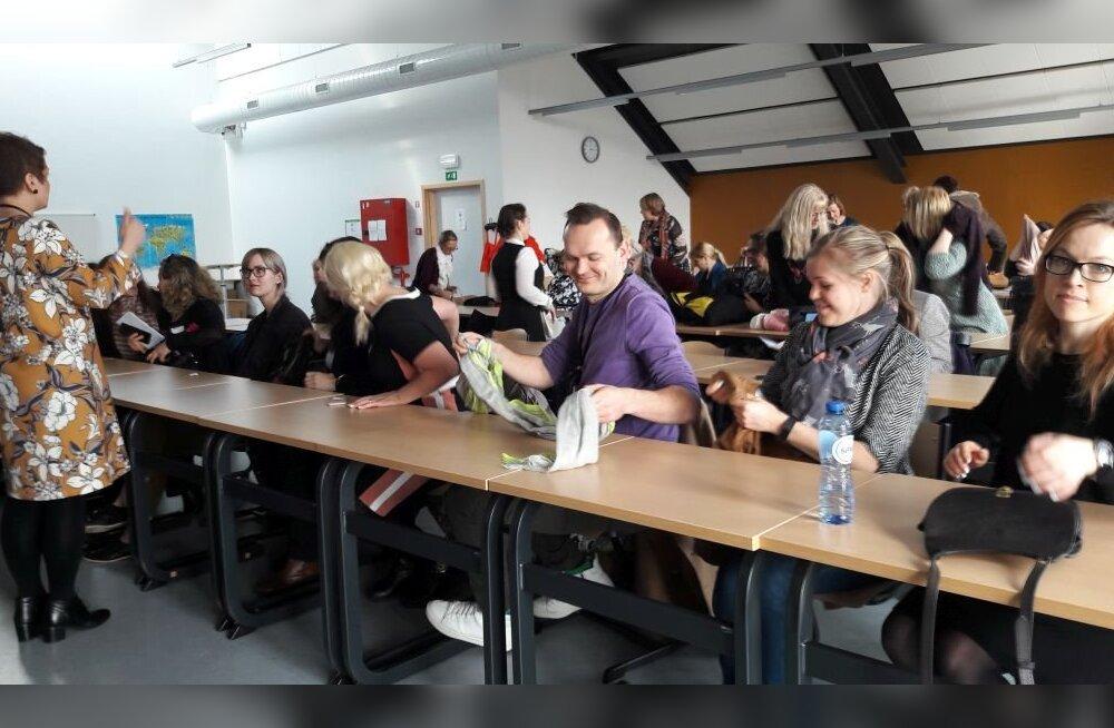 FOTO: Brüsselis kohtuvad eesti keele õpetajad maailma eri paikadest