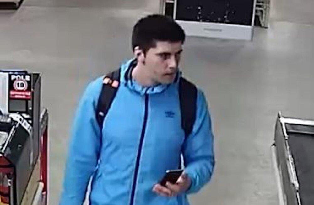 ФОТО: Нарвская полиция разыскивает возможного правонарушителя