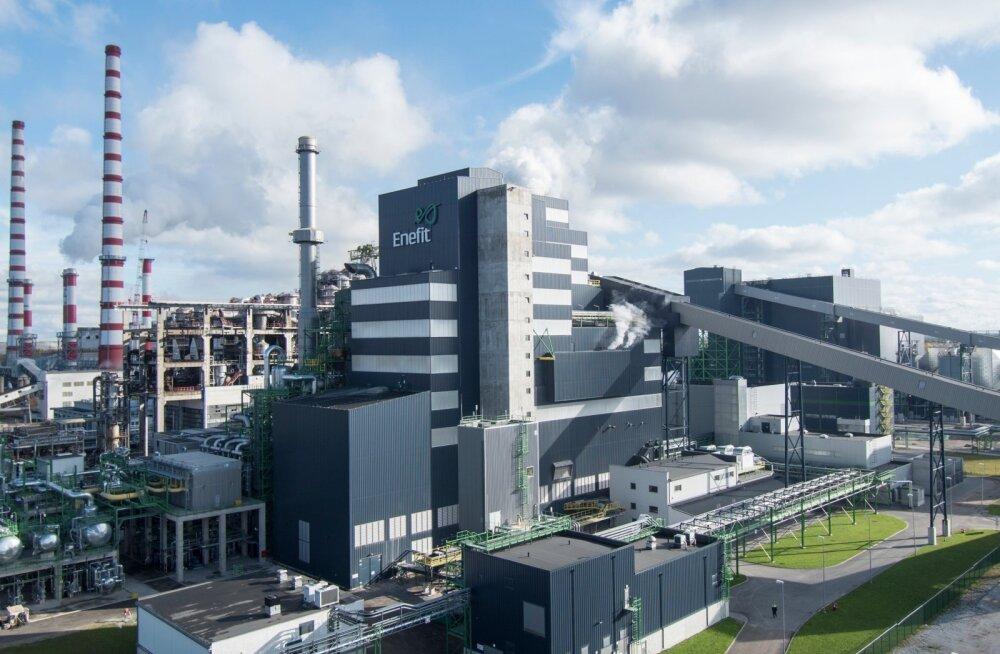 Eesti Energia Enefit280 õlitehas, mis läks kokku maksma 280 miljonit.