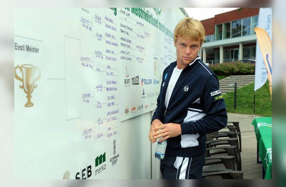 Jürgen Zopp, tennis