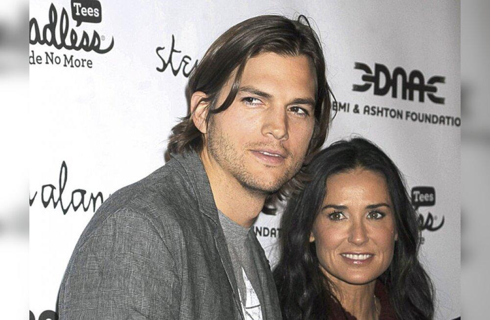 Demi Moore ja Ashton Kutcher võitlevad laste seksorjastamisega