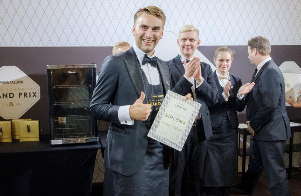 Лучшим сомелье стран Балтии стал Рональдс Петерсонс из Латвии