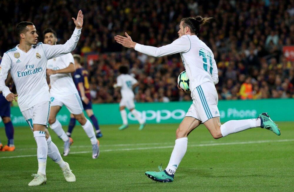 Gareth Bale (paremal) tõi Madridi Realile viigipunkti.